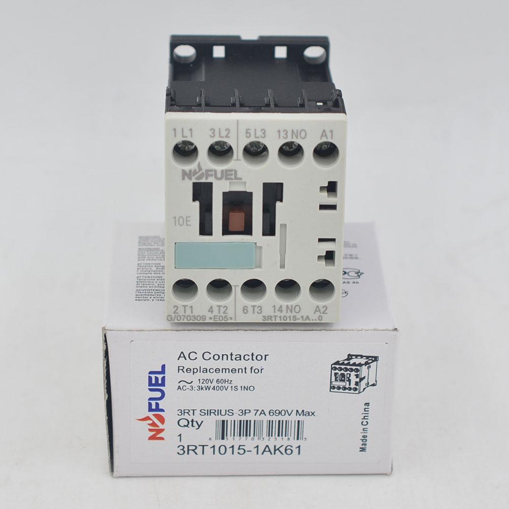 3RT1015-1AK61    3RT Contactor  7A   3P