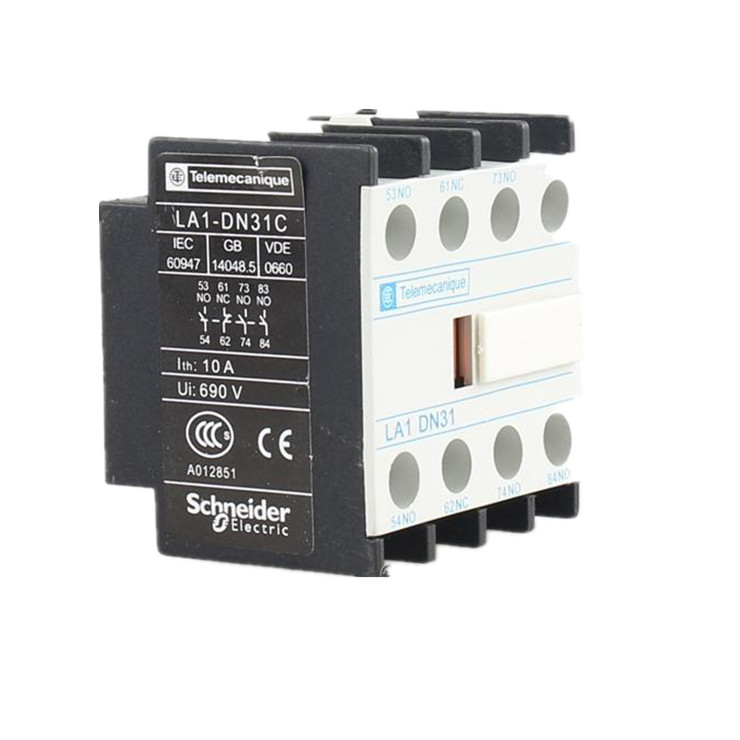 Schneider-contactor-auxiliary-contact----LA1DN31-3NO 1NC-High-Efficiency