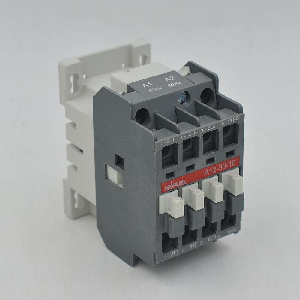 A12-30-10  Contactor 12A  3P 120V/60HZ