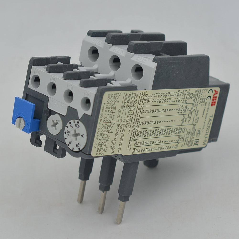 TA25DU-6.5M  ABB  Thermal Overload Relays  4.5-6.5A  1SAZ211201R2038